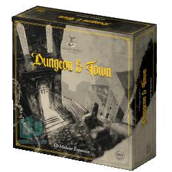 Gamestart Edizioni Fantasy World Creator: Dungeon & Town 3D Modular Terrain Expansion in Pathfinder Terrain