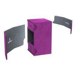 Gamegenic Purple Watchtower Deck Holder (100+) в Кутии за карти