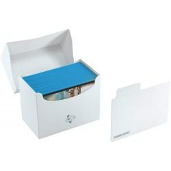 Gamegenic White Side Deck Holder (80+) - бяла кутия за карти в Кутии за карти