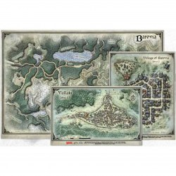 Dungeons & Dragons: Curse of Strahd Map Set (3 maps) в D&D и други RPG / D&D / Pathfinder терен