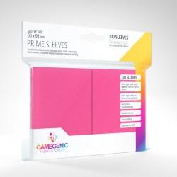 Протектори за карти Gamegenic Matte Prime Sleeves Pink 66x91mm (100 броя, матови, розови, плътни) в LCG, 63.5x88 мм)