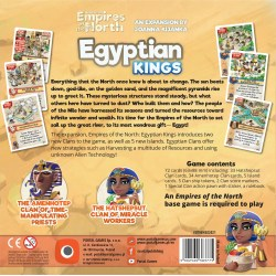 Imperial Settlers: Empires of the North – Egyptian Kings Expansion (2021) - разширение за настолна игра