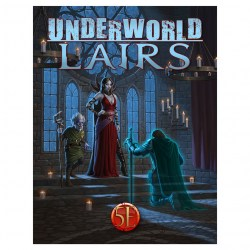 Dungeons & Dragons RPG 5th Edition: Game Master's Toolbox - Underworld Lairs (5E, Softcover, Nord Games) в D&D и други RPG / D&D 5th Edition / D&D други правила
