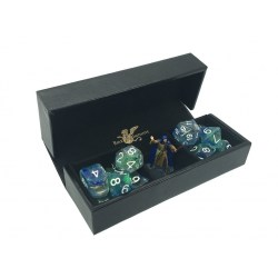 """Luxury Faux Leather Dice Box/Rolling Tray 6x6"""" in Other accessories"""