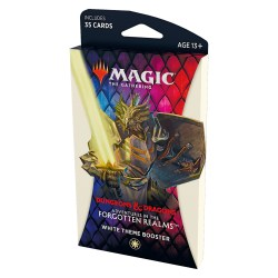 MTG: Dungeons & Dragons D&D Adventures in the Forgotten Realms Theme Booster - White в Magic: the Gathering