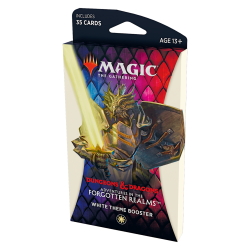 MTG: Dungeons & Dragons D&D Adventures in the Forgotten Realms Theme Booster - White (1 бустер) в Magic: the Gathering