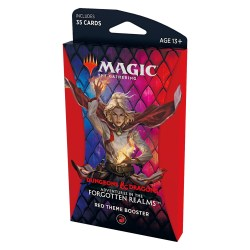MTG: Dungeons & Dragons D&D Adventures in the Forgotten Realms Theme Booster - Red в Magic: the Gathering