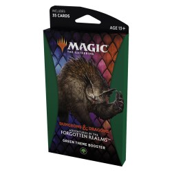 MTG: Dungeons & Dragons D&D Adventures in the Forgotten Realms Theme Booster - Green в Magic: the Gathering