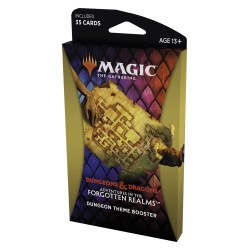 MTG: Dungeons & Dragons D&D Adventures in the Forgotten Realms Theme Booster - Dungeon в Magic: the Gathering