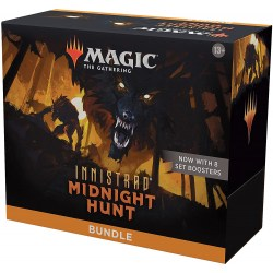 MTG: Innistrad: Midnight Hunt Bundle (8 Set Boosters) in Magic: the Gathering