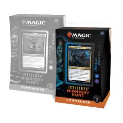 MTG: Innistrad: Midnight Hunt Commander Deck - Undead Unleashed (blue-black) в Magic: the Gathering
