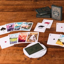 Parks: National Parks Playing Cards (Green Deck) в Карти за игра