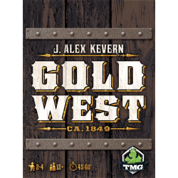 Gold West (2015) - настолна игра