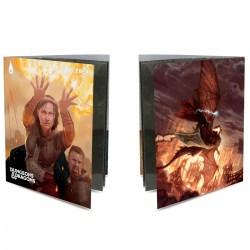 Ultra Pro Dungeons & Dragons Character Folio With Stickers - Sorcerer в D&D и други RPG / D&D карти и аксесоари