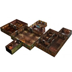 Tenfold Dungeon: The Town in Terrain for games