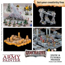 The Army Painter - Gamemaster Terrain Primer: Snow & Tundra (300ml) в Army Painter спрейове