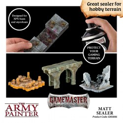 The Army Painter - Gamemaster Terrain Sealer: Matt Sealer (300ml) в Army Painter спрейове