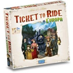 [Леко увредена кутия, запечатана] Ticket to Ride: Europe 15th Anniversary Edition (2021) - юбилейно издание на настолната игра