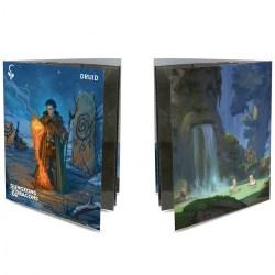 Ultra Pro Dungeons & Dragons Character Folio With Stickers - Druid в D&D и други RPG / D&D карти и аксесоари