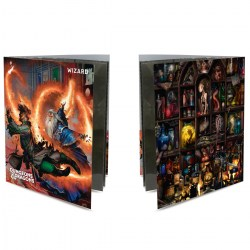 Ultra Pro Dungeons & Dragons Character Folio With Stickers - Wizard в D&D и други RPG / D&D карти и аксесоари