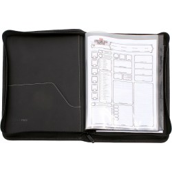 Ultra Pro Dungeons & Dragons Premium Zippered Book & Character Folio in D&D Cards & Accessories