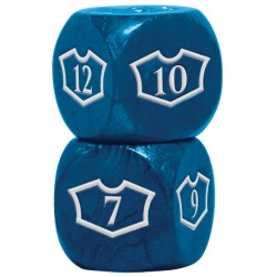 Ultra Pro Magic: The Gathering Oversized Loyalty Dice (4) - Island in Sleeves & Accessories