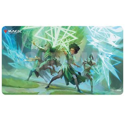 """Ultra Pro Magic the Gathering Playmat: Strixhaven - Quandrix (24""""x13.5"""") in Sleeves & Accessories"""