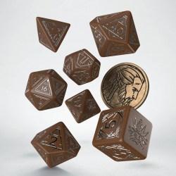 Комплект D&D зарове: Q-Workshop The Witcher Geralt - The Roach's Companion (Brown & Silver) в D&D и други RPG / D&D Зарове