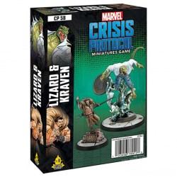 Marvel: Crisis Protocol – Lizard & Kraven Expansion (2021) в Marvel: Crisis Protocol