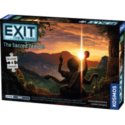 "Exit: The Game + Puzzle - The Sacred Temple  (2020) - ""escape room"" настолна игра"