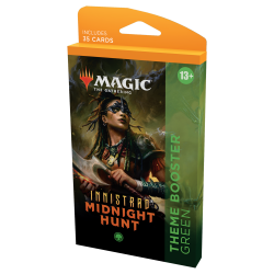 MTG: Innistrad: Midnight Hunt Theme Booster - Green (1) in MTG Theme Boosters