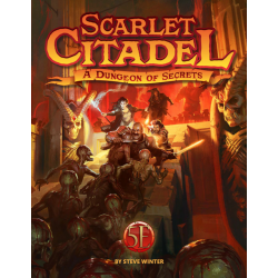 Dungeons & Dragons RPG 5th Edition: Scarlet Citadel (5E Hardcover, Adventure Book, Kobold Press) в D&D и други RPG / D&D 5th Edition / D&D други правила