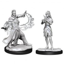 Magic: The Gathering Unpainted Miniatures: Wave 3 Killian & Dina в D&D и други RPG / D&D Миниатюри