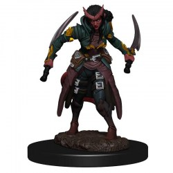 Dungeons & Dragons Fantasy Miniatures: Icons of the Realms Premium Figures - Female Tiefling Rogue в D&D и други RPG / D&D Миниатюри