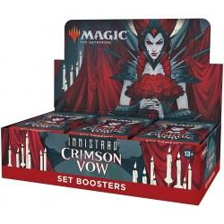 (Pre-order) MTG: Innistrad: Crimson Vow Set Booster Display Box (30) в Magic: the Gathering