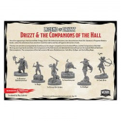 D&D Collector's Series: Forgotten Realms: The Legend of Drizzt - Companions of the Hall в D&D и други RPG / D&D Миниатюри