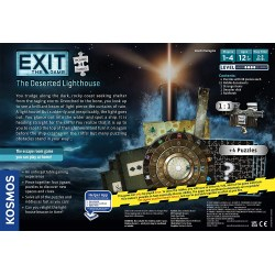 """Exit: The Game + Puzzle - The Deserted Lighthouse (2020) - """"escape room"""" настолна игра"""