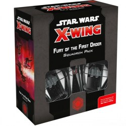 Star Wars: X-Wing Miniatures Game (Second Edition) - Fury of the First Order Squadron Pack in Star Wars: X-Wing