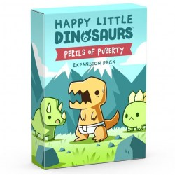 Happy Little Dinosaurs: Perils of Puberty Expansion (2021) Board Game