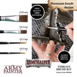 The Army Painter - Gamemaster Terrain Brush Kit in Army Painter Brushes