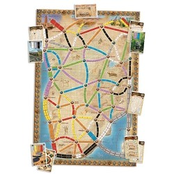 Ticket to Ride Map Collection: Volume 3 – The Heart of Africa (2012) - разширение за настолна игра
