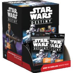 Star Wars Destiny: Spirit of Rebellion Booster Pack Display Box Board Game