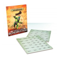 Age of Sigmar Warscroll Cards: Bonesplitterz in WH AoS Accessories