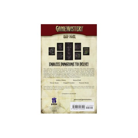 GameMastery Map Pack: Dungeon Sites