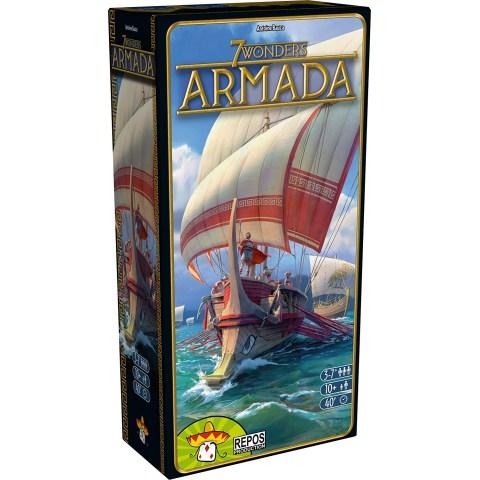 7 Wonders: Armada Expansion (2018) - разширение за настолна игра
