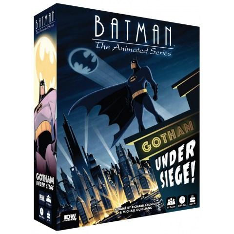 Batman: The Animated Series – Gotham City Under Siege (2018) - настолна игра