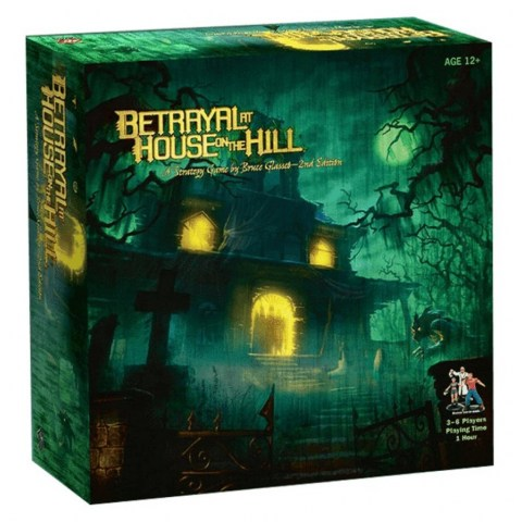 Betrayal at House on the Hill Second Edition (2010) Board Game