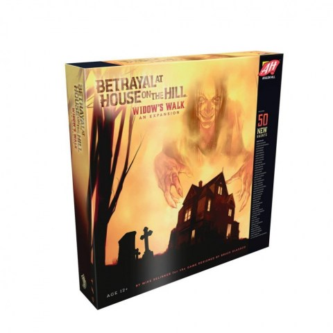 Betrayal at House on the Hill (2nd Edition, 2016): Widow's Walk Expansion - разширение за настолна игра