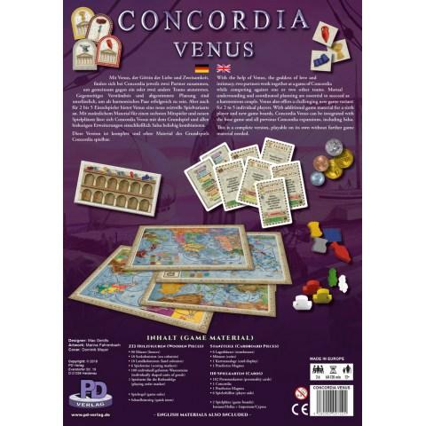 Concordia Venus (Concordia+Venus Expansion, 2018) - настолна игра