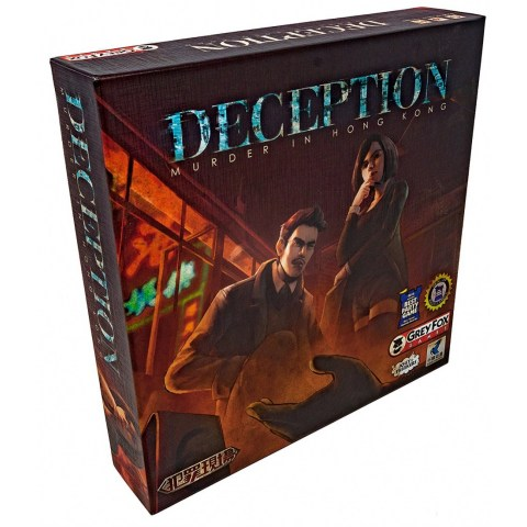 Deception: Murder in Hong Kong (2015) - настолна игра